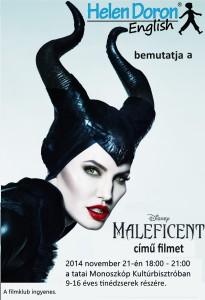 Maleficent poszter 2014